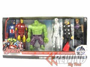 Hawkeye, Iron Man, Hulk, Thor, Captain America Marvel Titan Hero 6-Pack Figure