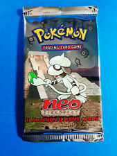 NEO Discovery Vintage Pokemon Booster Pack From Factory Sealed Box UNWEIGHED