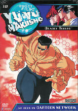 Yu Yu Hakusho ~ Dark Tournament Saga ~ Vol. 18 - Deadly Toguro ~ New Sealed DVD