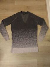 Jumper Dress Size 6 8 Next pink grey ombre shimmer long sleeves