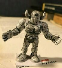 "muscle men M.U.S.C.L.E. Figure mini Mattel 80's 2"" d&d painted toy helmed devil!"