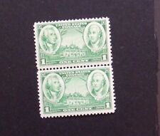 US Postage Stamp ARMY - NAVY Set 1936-37 Washington and Greene Lot of 2-1 cent