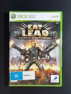 Eat Lead The Return of Matt Hazard *NEW (Microsoft Xbox 360, 2009) Xbox 360 Game
