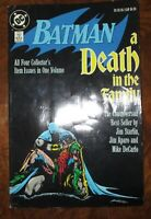 Batman: A Death in the Family TPB 4th edtn 1989 DC Softcover Robin Joker Aparo