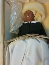 FRANKLIN MINT MAMMY PORCELAIN DOLL NEW IN BOX COA