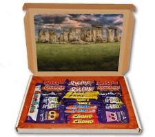 Stone Henge Monument Stone 24 Bar Cadbury Chocolate Hamper Personalised Gift Box