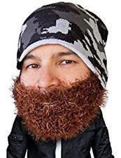 1962b957fe4 Bushy Maverick - Beard Head - Brown Bushy Beard + Camo Beanie