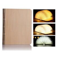 Faltbar LED Booklight Buchlampe Tischleuchte Kühlschrank Geschenk Gift DE