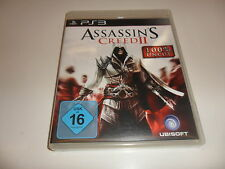 PlayStation 3 PS 3 Assassin 's Creed II