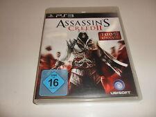 Playstation 3 ps 3 Assassin 's Creed II