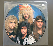 RECKLESS - Heart Of Steel Vinyl LP Picture Disc Record 1984 UK Press Rare NMint