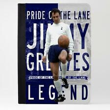 Chicharrón Tottenham Cuero Funda Ipad Tableta Cubierta de la leyenda del fútbol regalo LG40