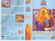 BEAR IN THE BIG BLUE HOUSE ~ FRIENDS AT PLAY VIDEO VHS A RARE FIND