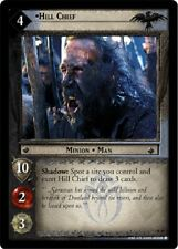 LOTR TCG Hill Chief 4R20 The Two Towers Lord of the Rings NM FOIL