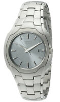 Citizen Eco-Drive Men's Date Calendar Silver-Tone Bracelet 38mm Watch BM6010-55A