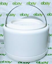 New listing Stelton Of Denmark White Ice Bucket Designed By Erik Magnussen w/Original Insert