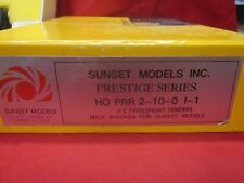 SUNSET MODELS PRESTIGE SERIES HO PRR 2-10-0 1-1 ( LOOK ) NO RESERVE