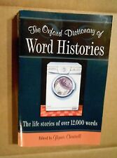 Oxford Dictionary of Word Histories! Over 12,000 Word Life Stories! SC! VG Cond!