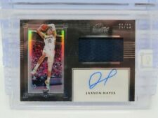 2019-20 Panini One And One Jaxson Hayes Rookie Jersey Auto Autograph #76/99 P80