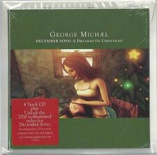 GEORGE MICHAEL - DECEMBER SONG (I DREAMED OF CHRISTMAS) 2010 UK CD XMAS CARD ED.