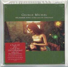 George Michael December Song Enhanced 5 TRK CD Single Ltd Ed Very RARE