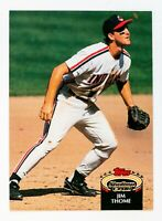Jim Thome #360 (1992 Stadium Club) Rookie Baseball Card, Cleveland Indians, HOF