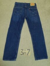 LEVI'S 569 LOOSE STRAIGHT TAGS-30X32 BLUE JEANS MEAS 31X30   #V909