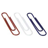 Acco Nylon-coated Paper Clips - Jumbo - 150 / Box - Assorted (ACC72542)