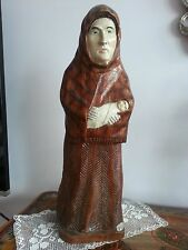 Folk ART Woodcarving By Skiesgilas named Laumė Witch
