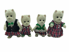 Calico Critters Sylvanian Families McWalkies West Highland Terrier Family of 4
