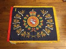 Royal Newfoundland Regiment 1st Battalion Regimental colours flag