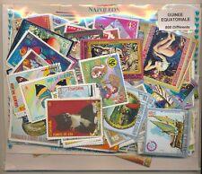Guinea Ecuatorial    US  Paquete  800 sellos diferentes