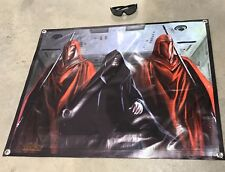 Star Wars imperial royal guard figure poster banner vinyl emperor Palpatine 31d