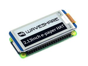 Waveshare V2 2.13inch e-Paper Hat E-Ink Display for Raspberry Pi 4B Zero/Zero W