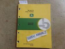 John Deere 60 & 70 Lawn & Garden Tractor Service Manual Sm-2092