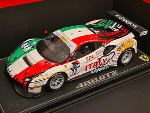 Ferrari 1/18 BBR P18174 488 GT3 FIA GT Bahrain 2018 Kaspersky Italy Limited 50