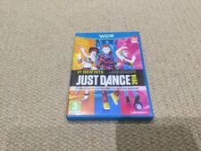 Nintendo Wii U Just Dance 2014 Game Very Good Condition