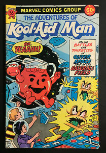ADVENTURES OF KOOL-AID MAN 1 VINTAGE 1st ISSUE 1983 ROMITA JR SPIDER-MAN ARTIST