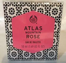 THE BODY SHOP ATLAS MOUNTAIN ROSE EAU DE TOILETTE EDT PERFUME SPRAY 1.69 OZ NEW