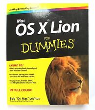 Mac OS X Lion For Dummies, LeVitus, Bob, Very Good Condition, Book