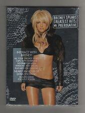 BRITNEY SPEARS - GREATEST HITS - MY PREROGATIVE - DVD all Ltd Ed - SEALED MINT