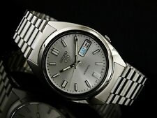 Seiko 5 Automatic Mens Watch See Through Back SNXS73K UK Seller