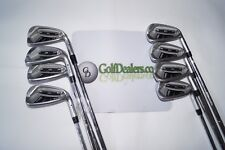 PING i20 IRONS 4-PW+UW - STIFF CFS STEEL SHAFTS