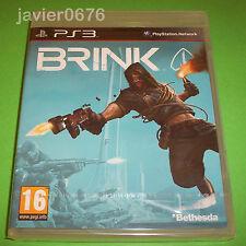 BRINK NUEVO Y PRECINTADO PAL ESPAÑA PLAYSTATION 3