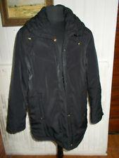 Veste manteau parka noir chaude UN JOUR AILLEURS 44fr 42d  PW12