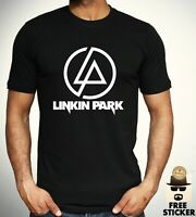 Linkin Park Logo T shirt Rock Band Classic Retro Tee New Gift Top Men's S - 3XL