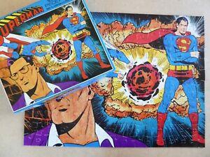 Superman 1977 Whitman 7809 Jigsaw Puzzle - 180 Large Piece Puzzle