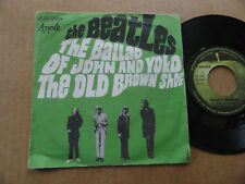 "DISQUE 45T DE THE BEATLES  "" THE BALLAD OF JOHN AND YOKO """