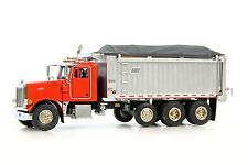 Sword Peterbilt 357 Rigid w/East Genesis Dump Body - Red 1/50 Die-cast MIB New