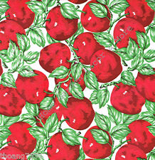 Red Apples Fruit Kitchen Vinyl Contact Paper Sheet Shelf Drawer Liner Peel Stick